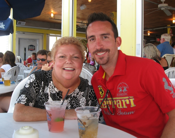 Mom and I in Cape Cod.  One of the last pics I have with her.
