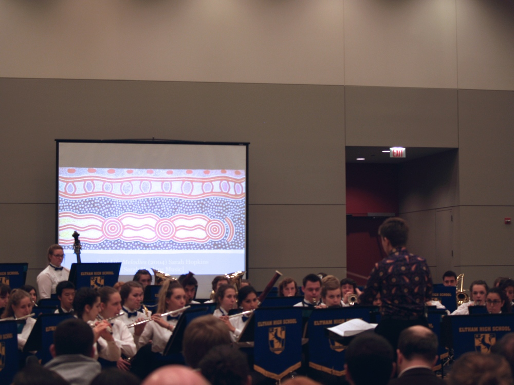Secrets from Downunder  at the Midwest Band & Orchestra Clinic, Chicago, IL.