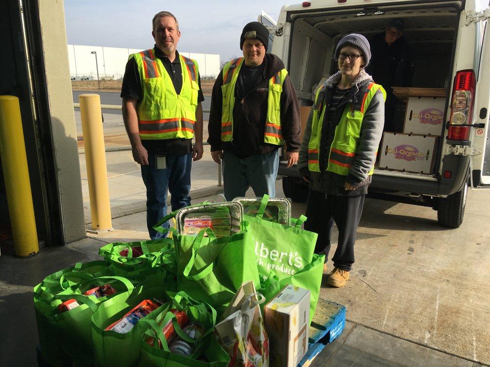 Joe, Sean and Meagan of Albert's Fresh Produce