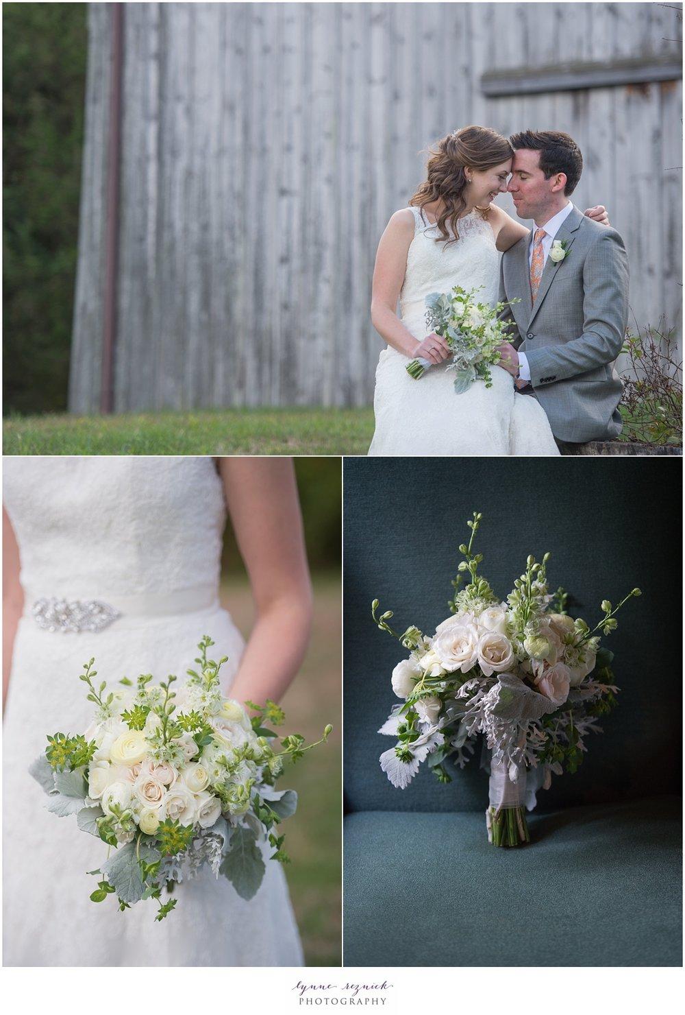stunning elegant bridal bouquet by Ashleigh's Garden