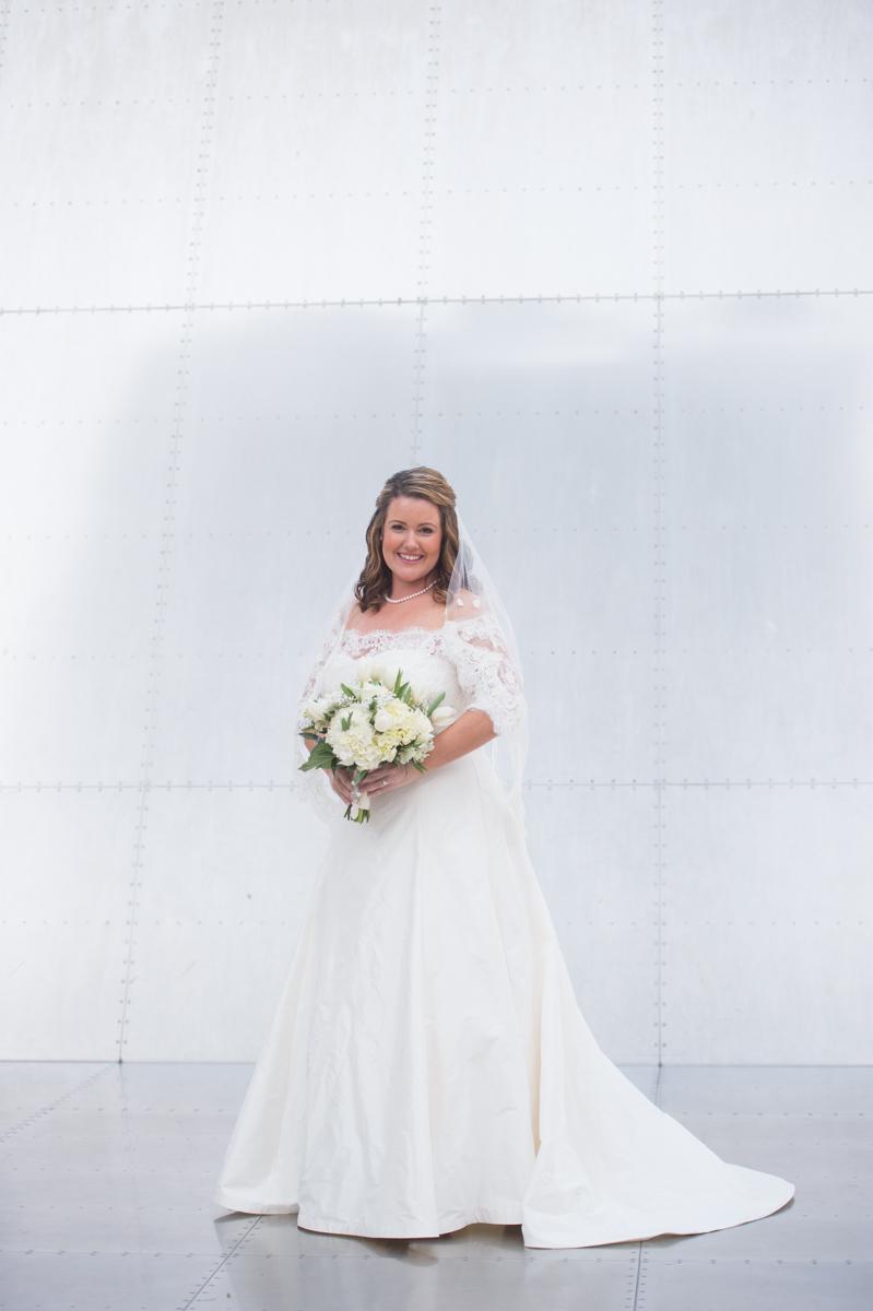 Boston Harbor Cruise Bridal Portraits for MA summer wedding