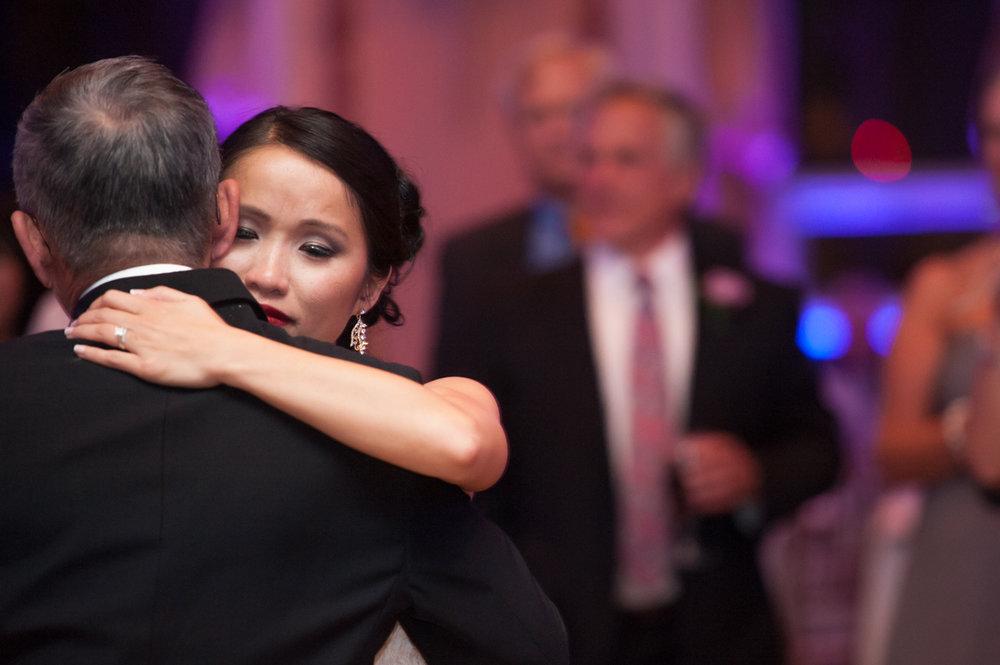 Bond Ballroom Father-Daughter Dance elegant wedding