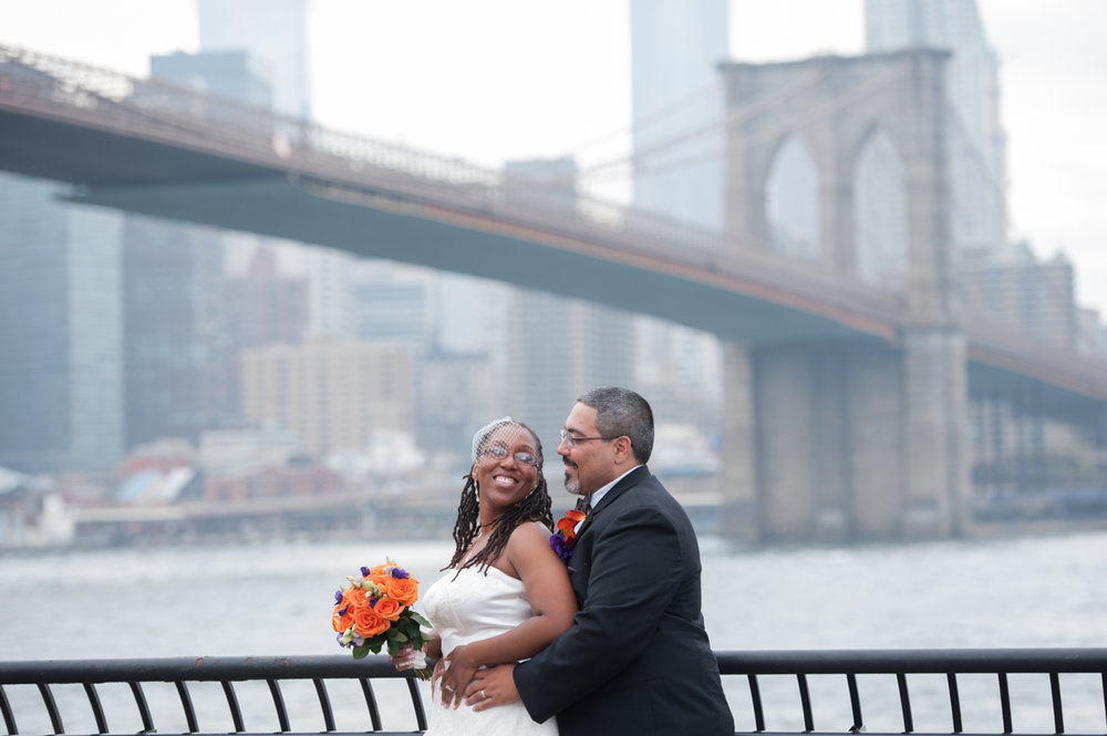 DUMBO NYC multicultural wedding