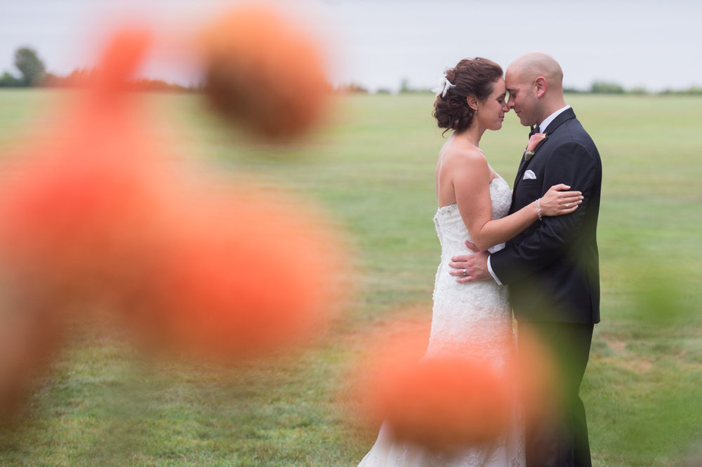 bright wedding portraits at Blothewold Mansion in Bristol RI