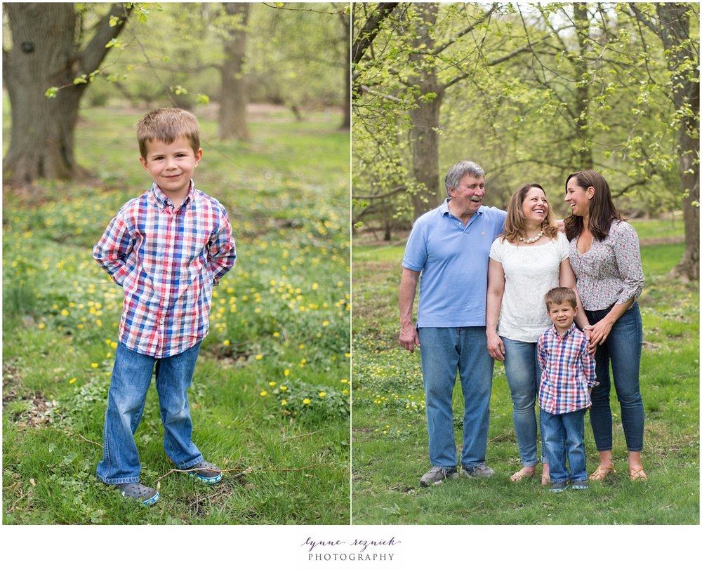 kids portraits and family photos at the arnold arboretum in JP