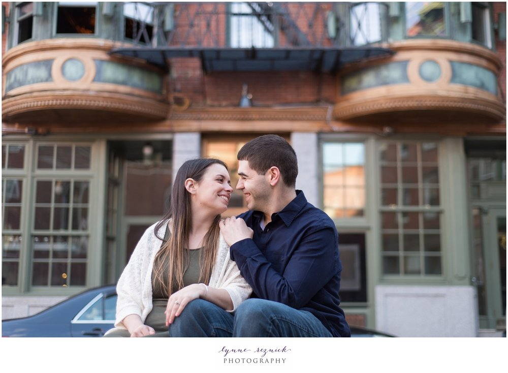 North End Engagement session pictures