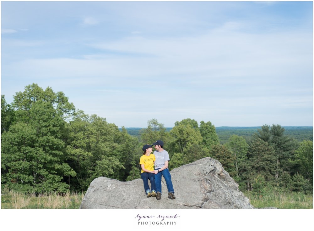Ward-Reservation-North-Andover-Hiking-Engagement-photography-session-hiking-sunset-MA-engaged-photo-shoot-elephant-rock-proposal-0034.jpg
