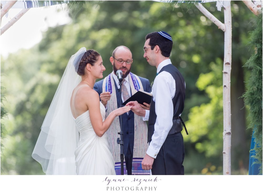jewish ceremony at the bradley estate
