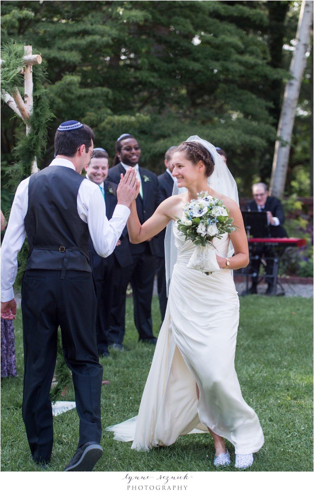 jewish wedding ceremony at bradley estate