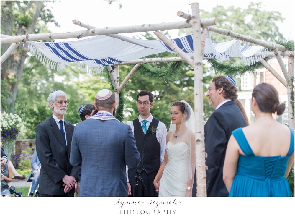 traditional wedding ceremony at the bradley estate