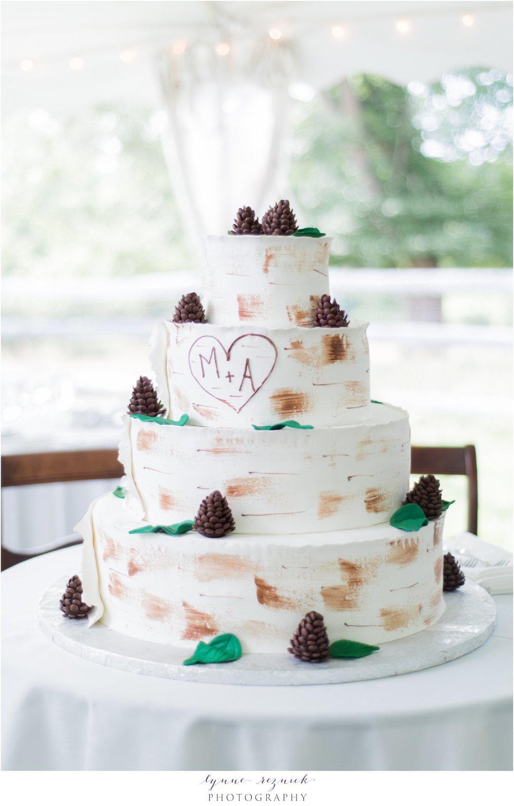 Konditor Meister birch tree wedding cake
