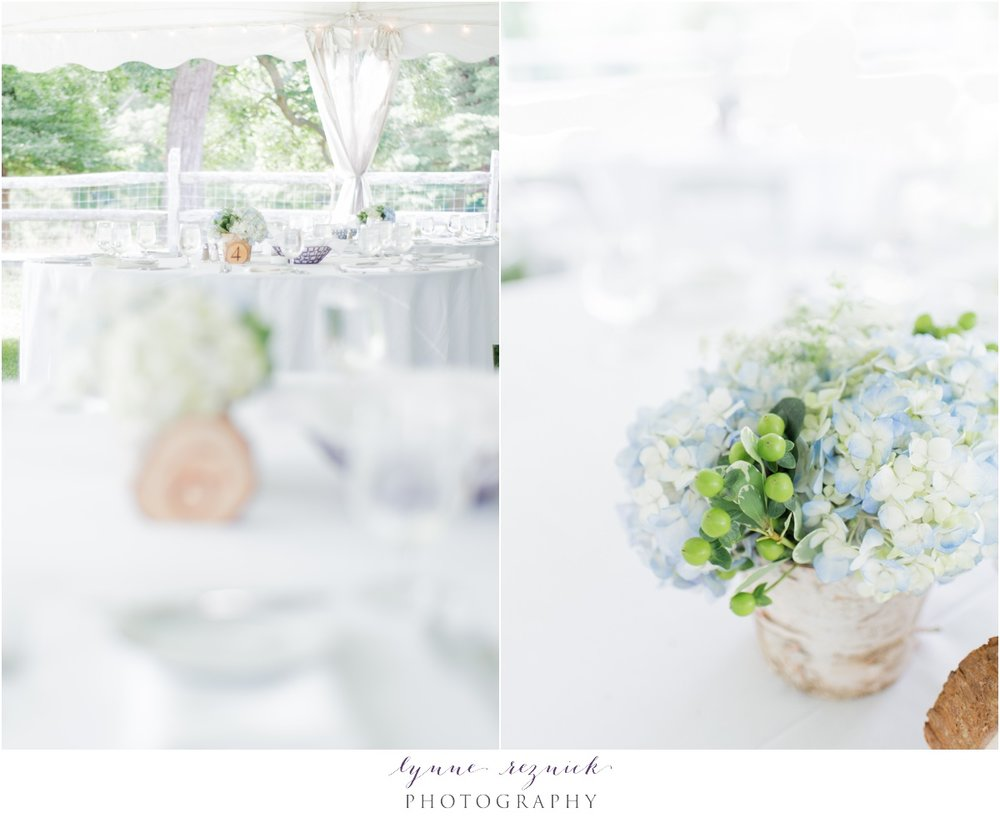 A Whole Bunch Flower Market centerpieces for Bradley Estate Wedding