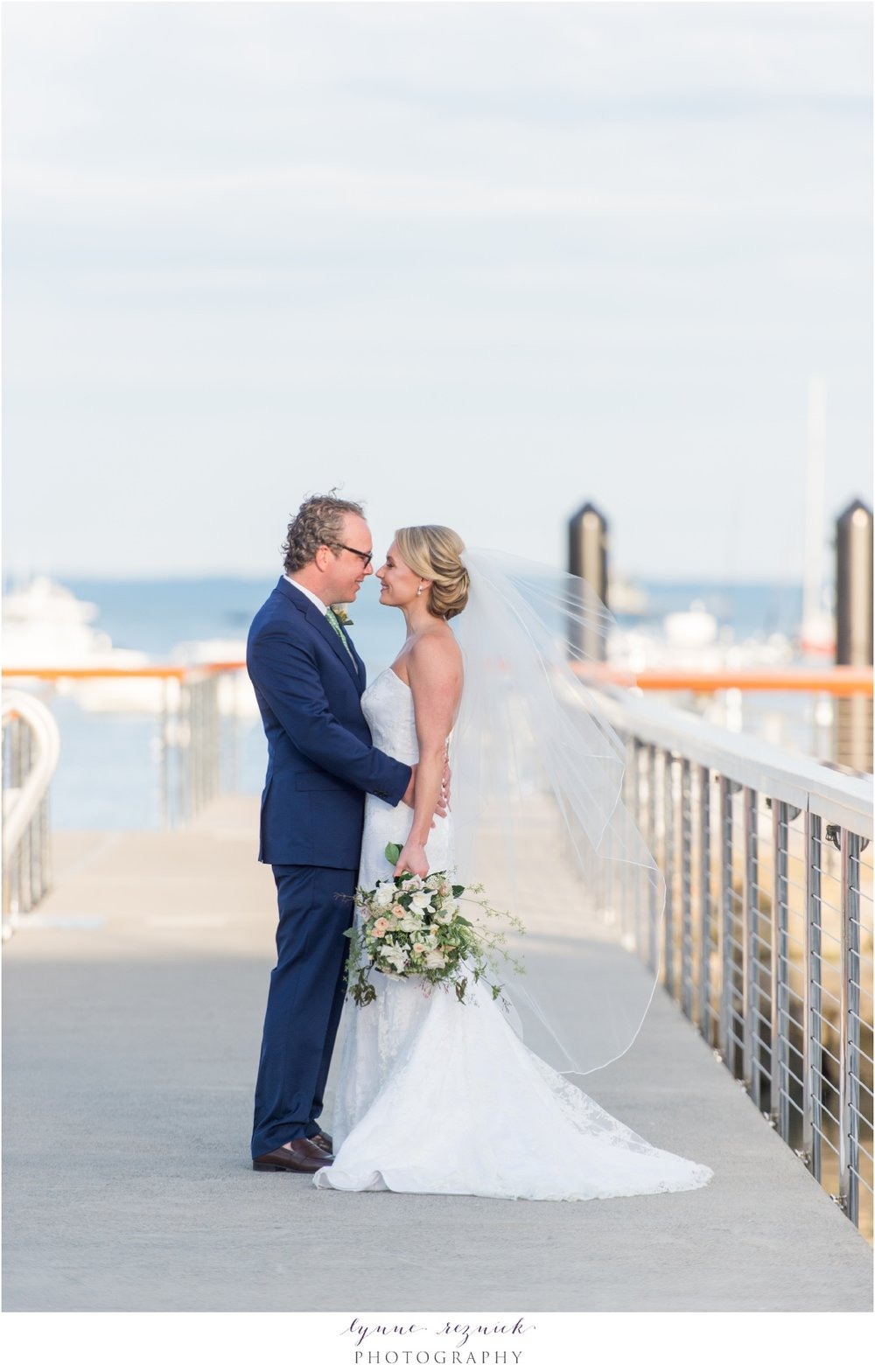 love on the docks at belle haven club yacht wedding