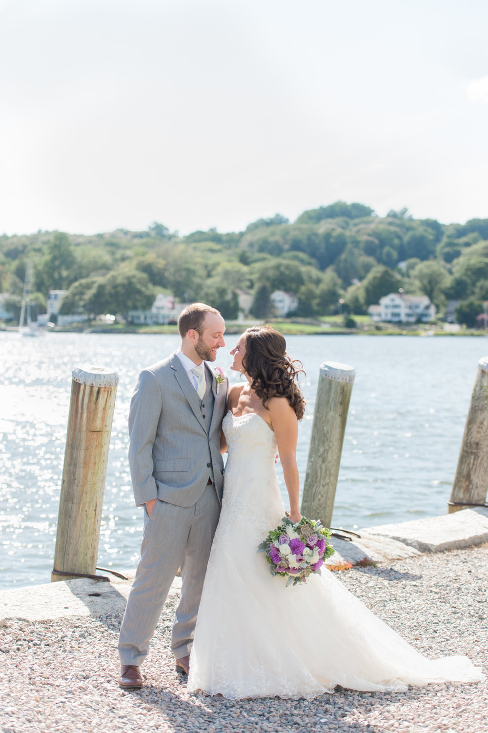 Mystic Seaport and Latitude 41 Wedding