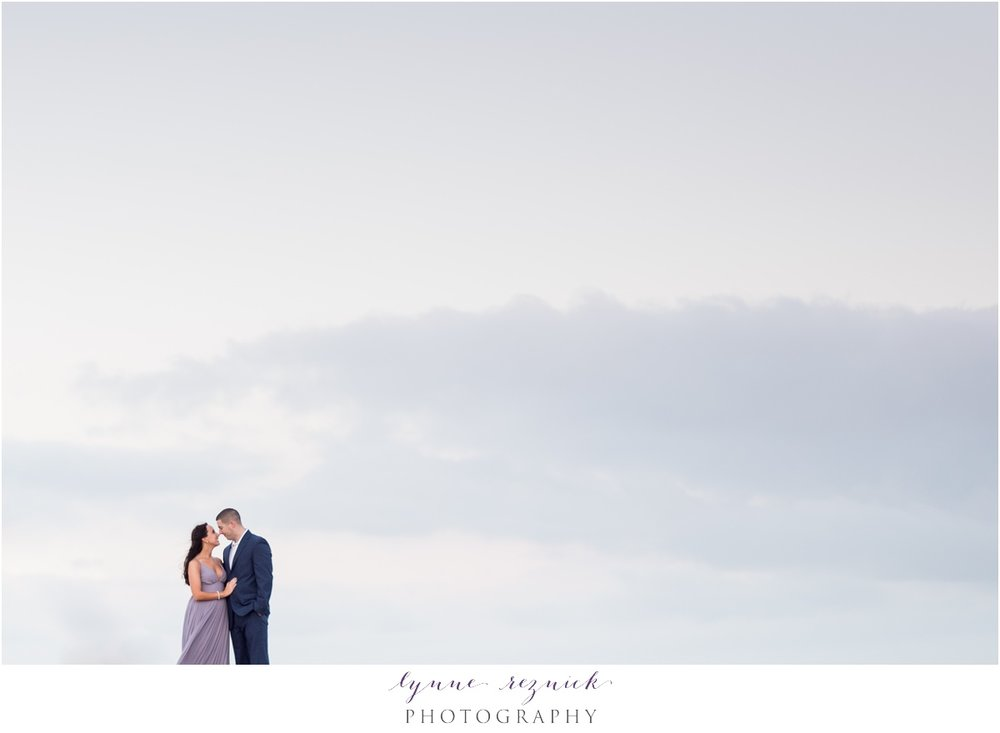 Plymouth Pier Romantic Engagement Session