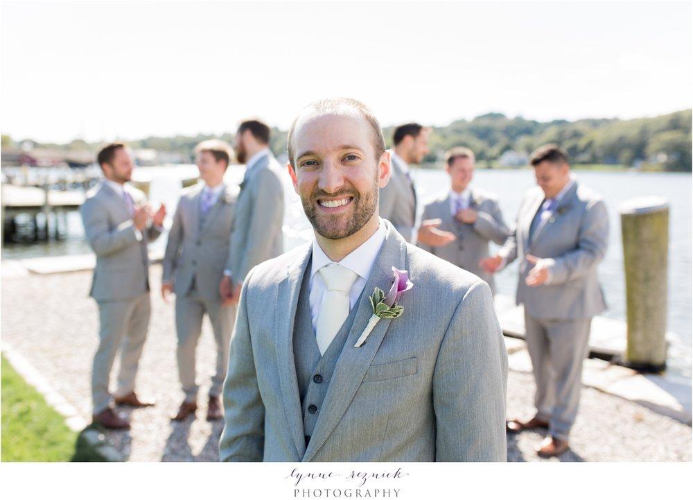 sunny groomsmen photos Latitude 41 Mystic Seaport wedding