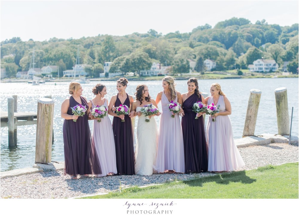 sunny bridesmaid photos Latitude 41 Mystic Seaport wedding