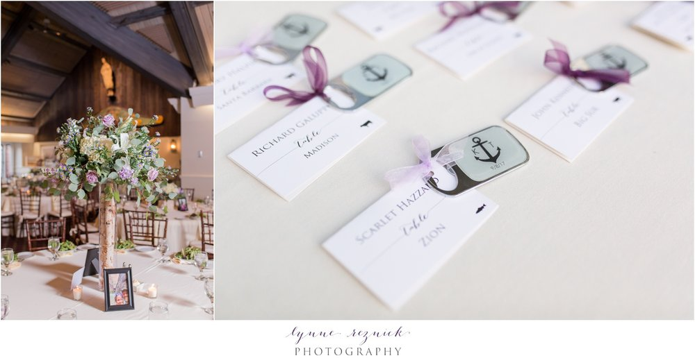 centerpieces and gifts nautical chic wedding