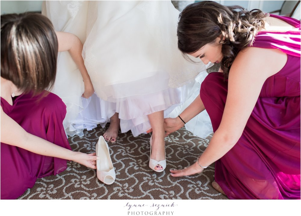 davids bridal wedding shoes with lace