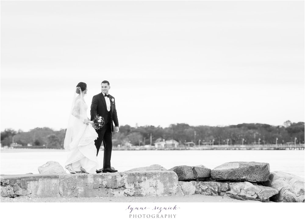 CT Shoreline Wedding Portraits