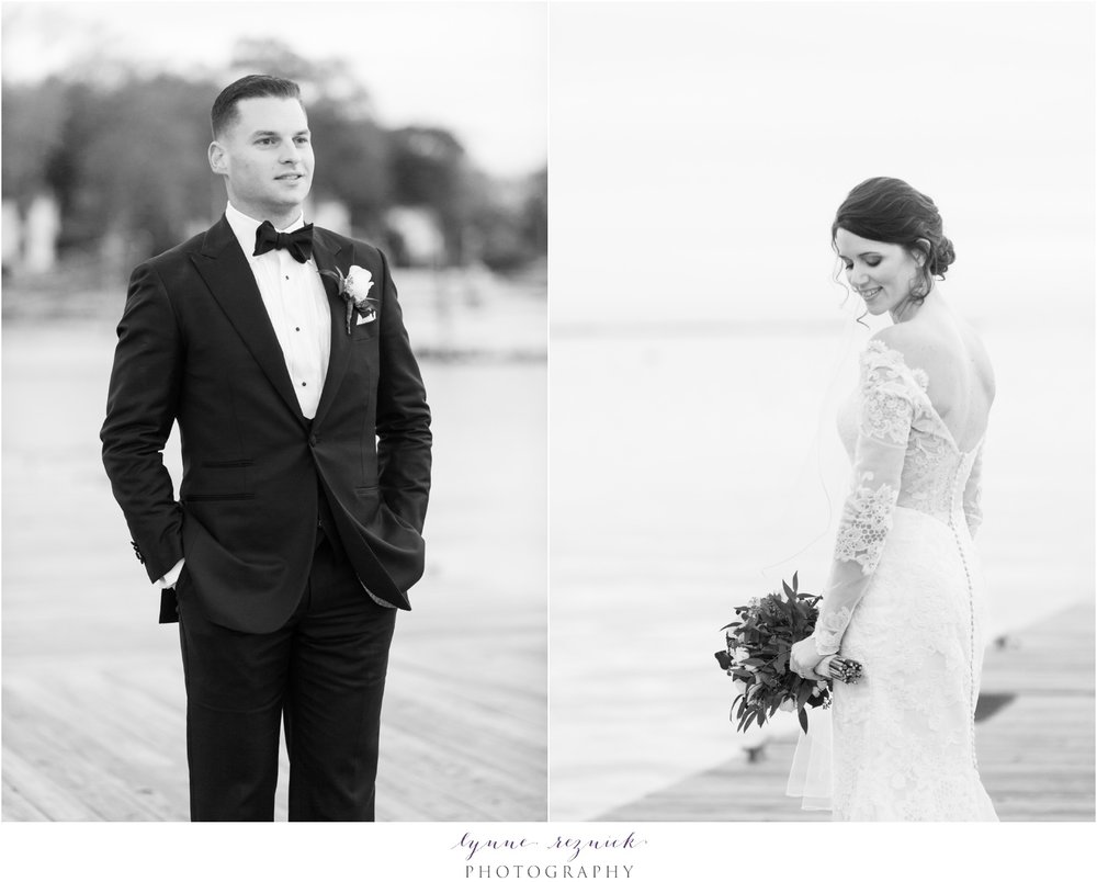 Classic Fall Stamford Yacht Club Wedding