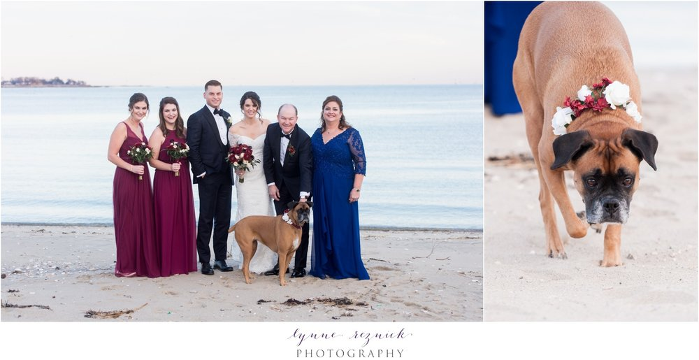 CT Shoreline Wedding Family Portraits