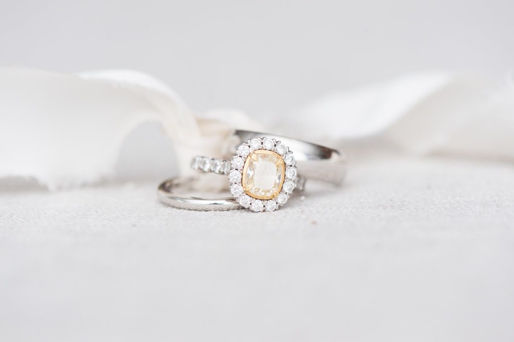 wedding planning DIY cleaning your engagement ring safely at home