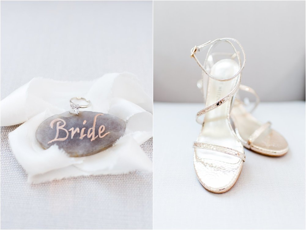 preppy chic bridal details at delamar hotel southport