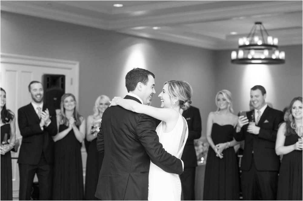 First dance at Patterson Club wedding