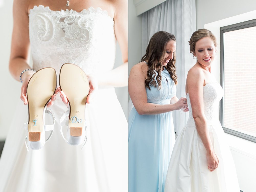 i do something blue bridal shoes for spring wedding