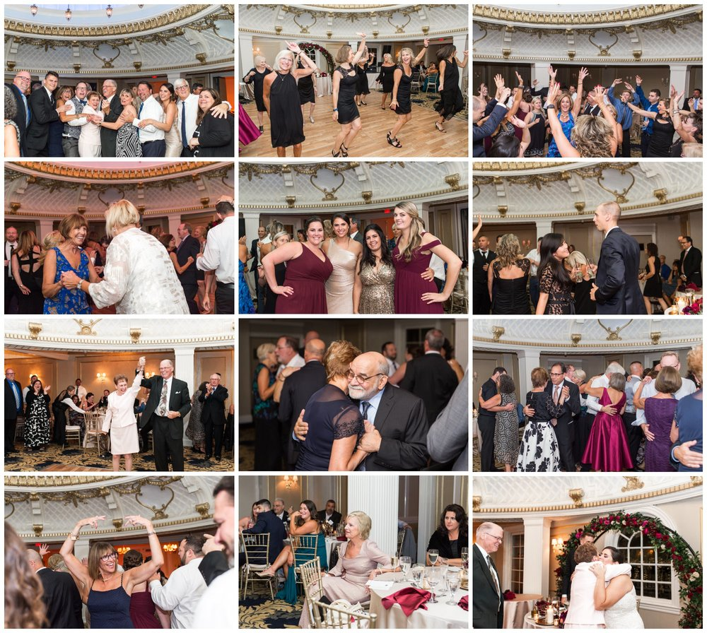 Lenox Hotel Dome Room Wedding reception Boston dance party with C Zone Entertainment