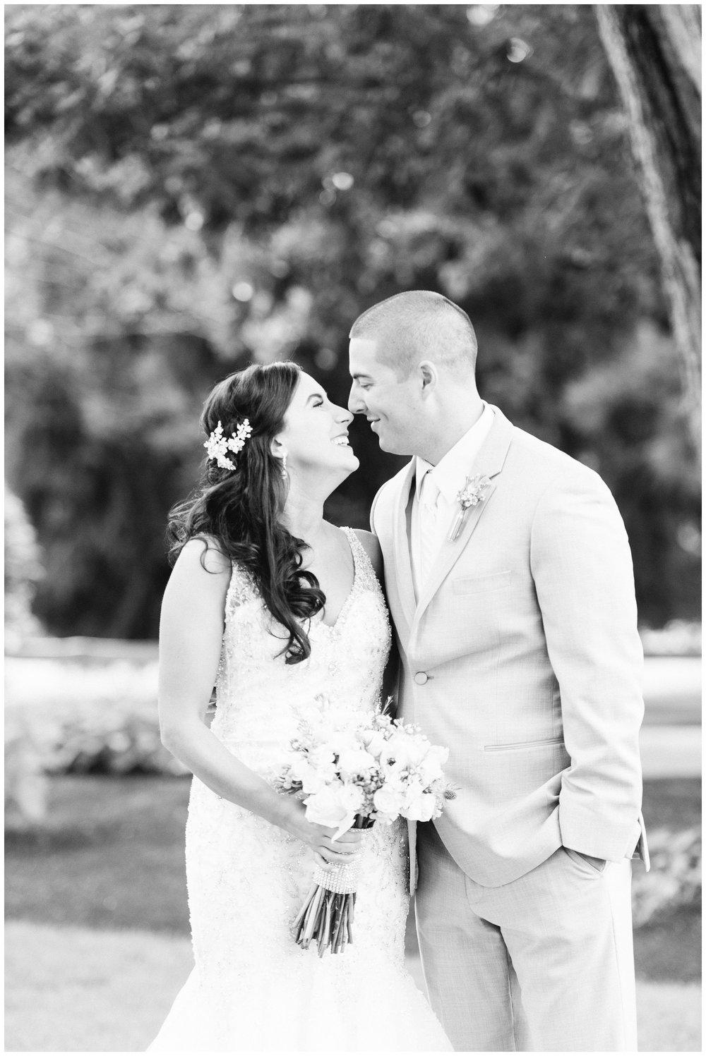 The Villa Summer Wedding couples portraits
