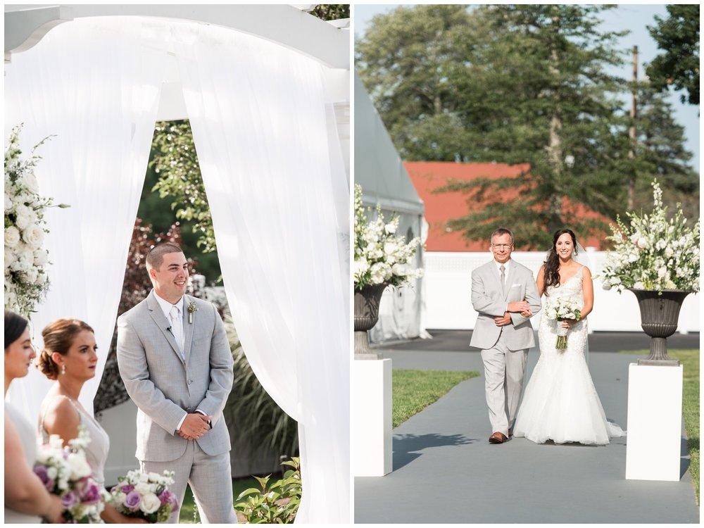 The Villa Summer Wedding Ceremony