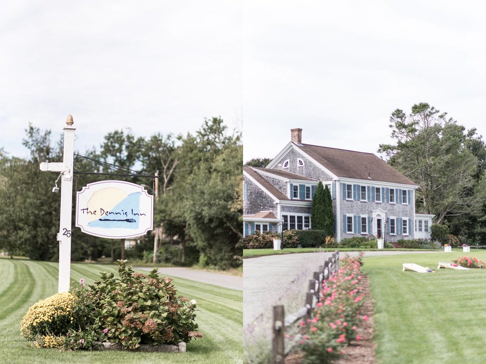 Cape Cod Wedding at The Dennis Inn