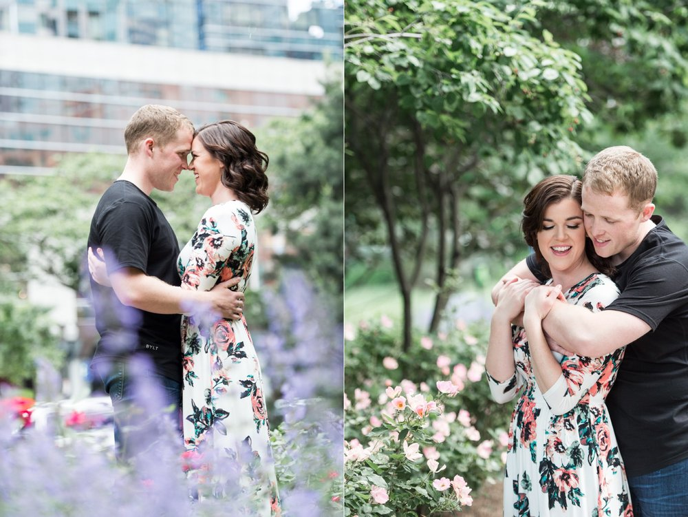 Rose Kennedy Greenway Engagement Session in Boston MA