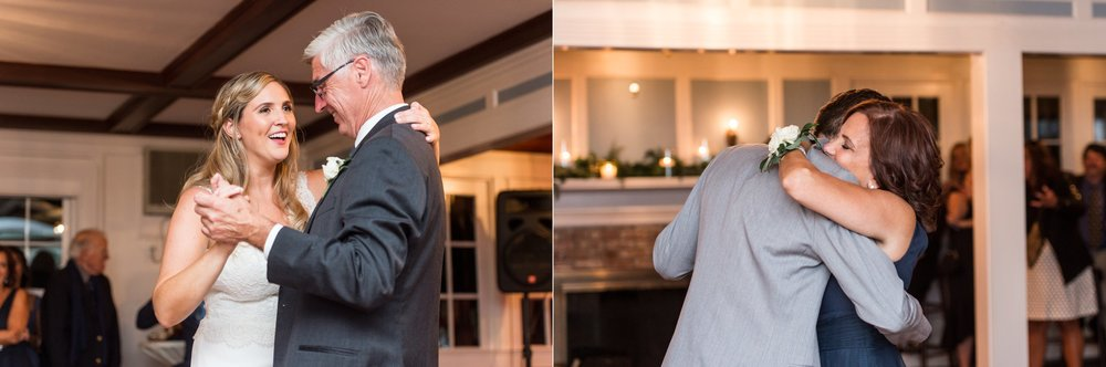 parent dances at cape cod wedding held at the dennis inn