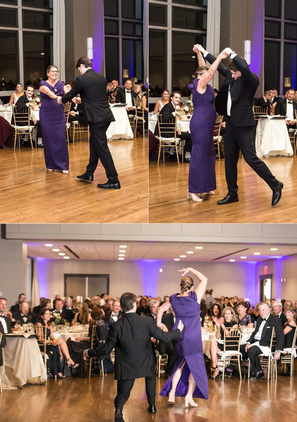Parent dance at Holy Cross Hogan Campus Center Wedding