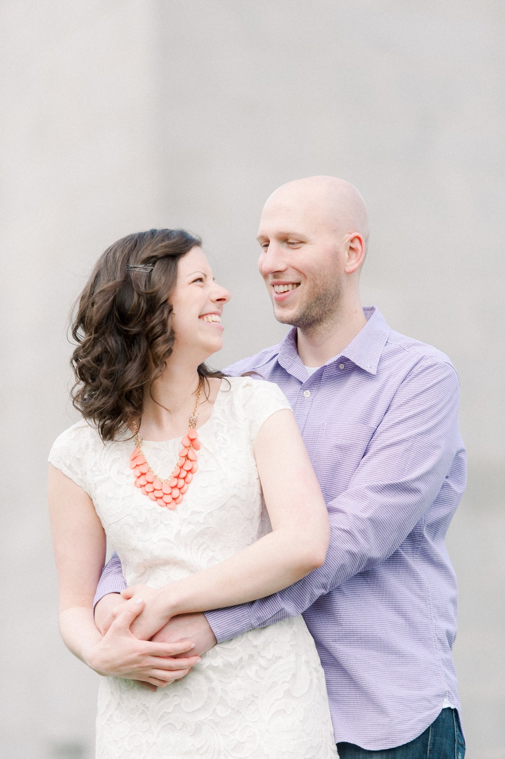 bunker hill monument and charlestown navy yard engagement session