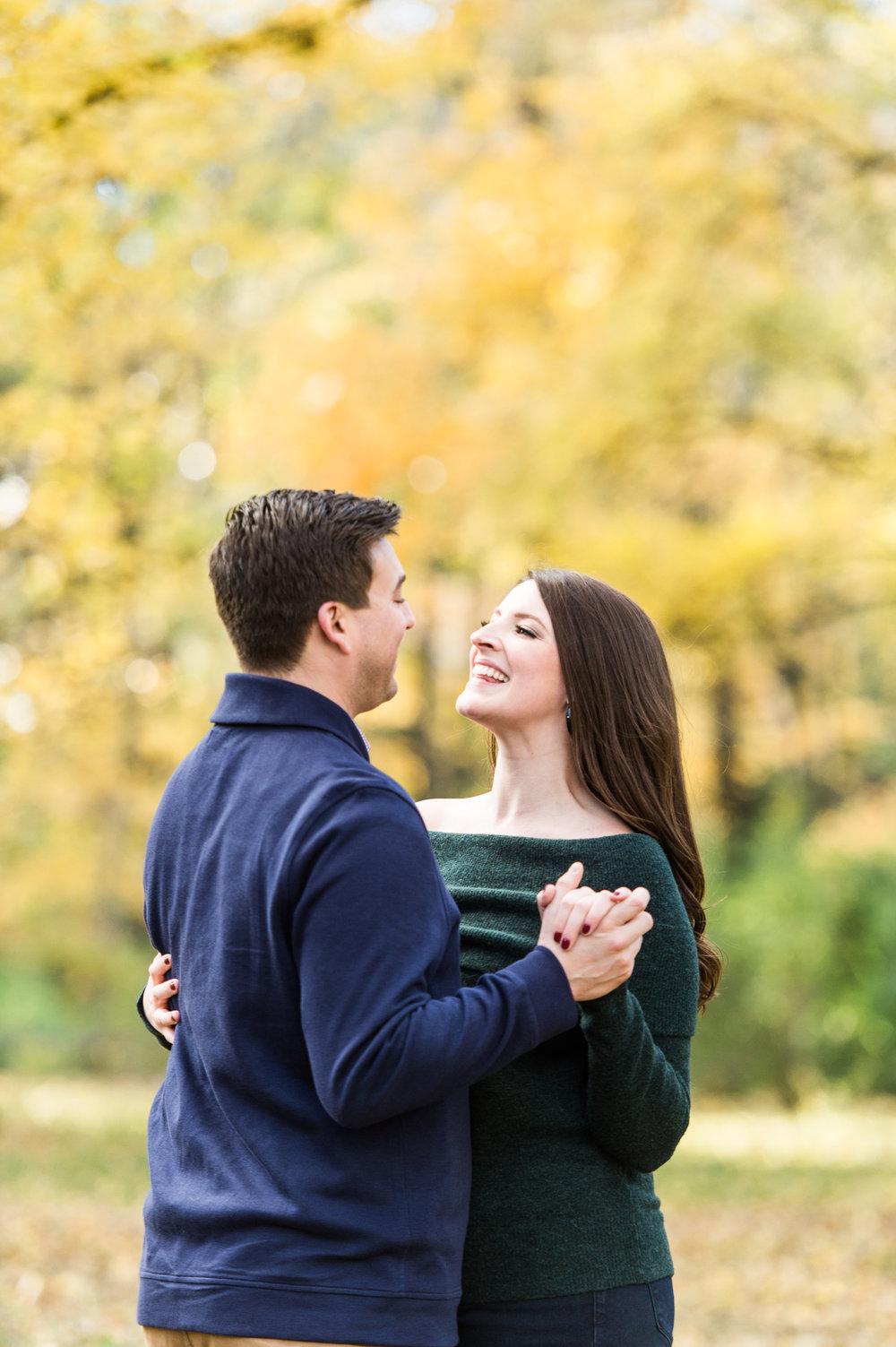 Arnold arboretum boston engagement session