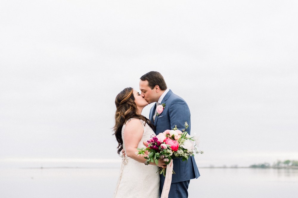 boston shoreline tented wedding