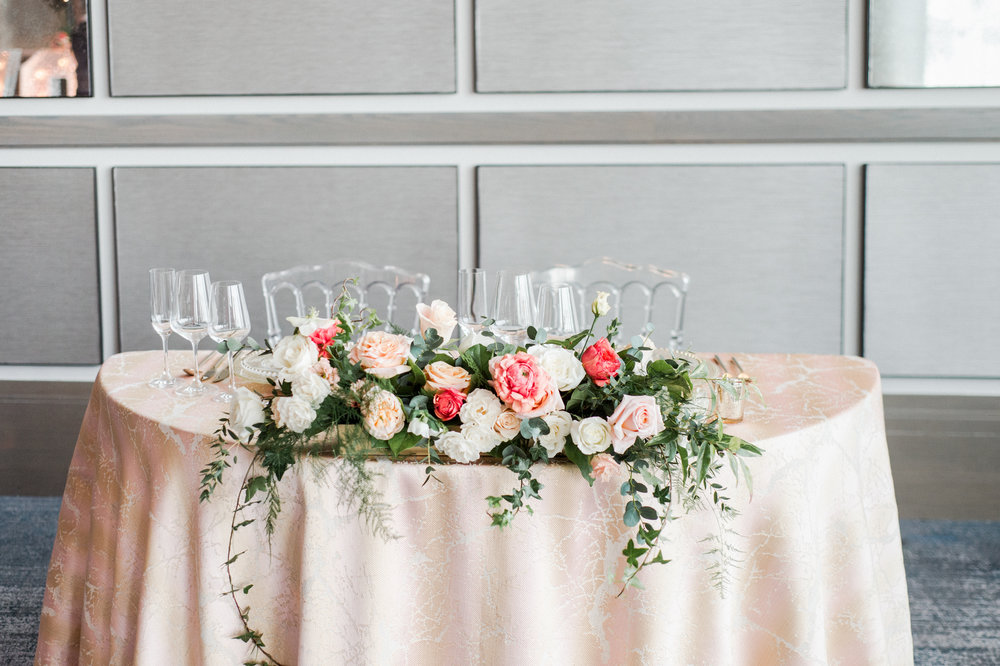 Wedding Planning Head Table Setup Tips Living Coral Sweetheart Table