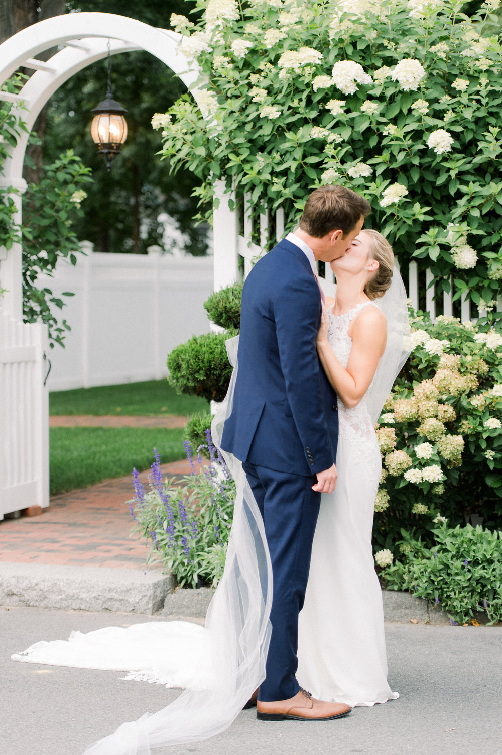 The Commons 1854 Topsfield MA wedding | Massachusetts wedding venue | Massachusetts wedding photography | couples portraits bride and groom | First look | North Shore MA Wedding photos