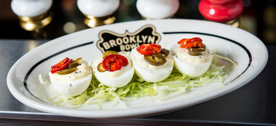 Plate of Egg Shooters