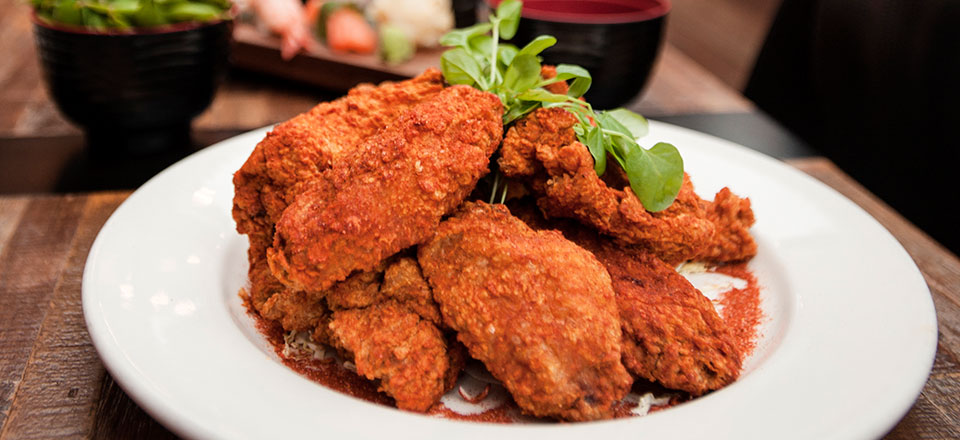 Blue Ribbon Fried Chicken Wings