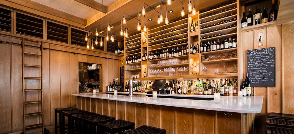 Blue Ribbon Downing Street Bar Interior