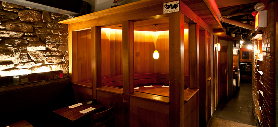 Private Booth at Blue Ribbon Sushi