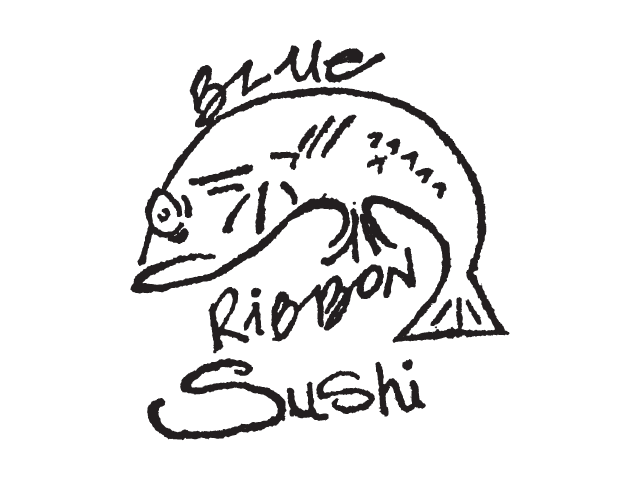 Blue Ribbon Sushi Logo
