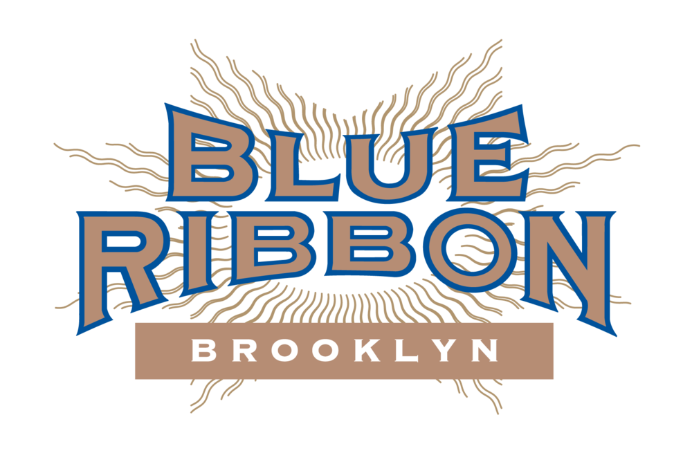first place ribbon graphics blue ribbon brasserie brooklyn bromberg bros blue ribbon