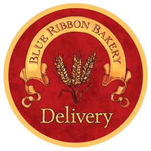 Blue Ribbon Bakery Delivery Logo