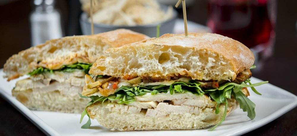 Chicken Muffaletta Sandwich